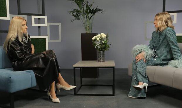 Ольга Горбачева и Полина Неня, скриншот: YouTube / Ольга Горбачева