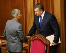 Руслан Кошулинский и Виктор Янукович