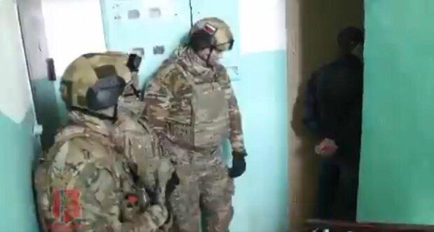 Задержание в России за картинки Вконтакте \\ фото Twitter