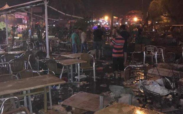Багдад струсонув потужний вибух, - відео