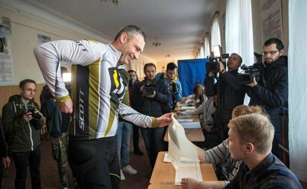 Виталий Кличко, Акценты