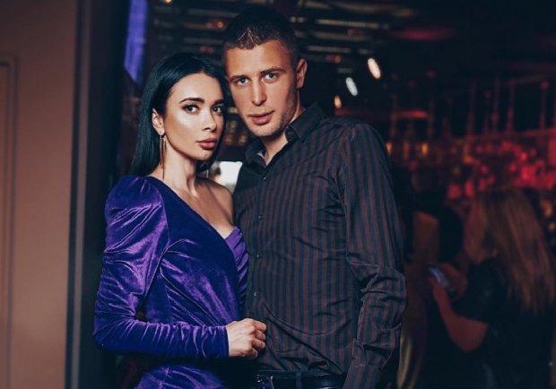 Анна Кравец с мужем Артемом