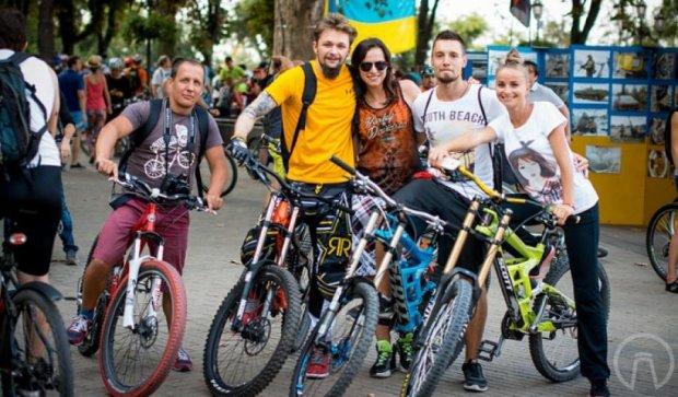День Одеси відзначили велопробігом (фото)