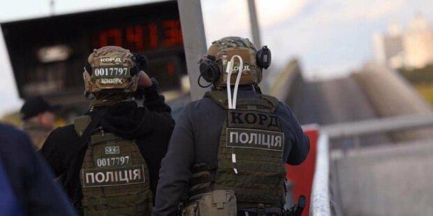 замінування мосту Метро в Києві