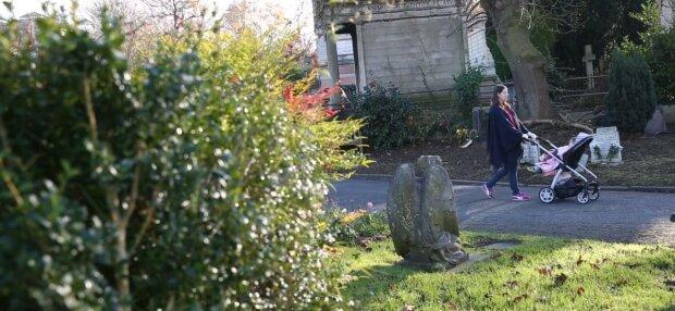 Кладбище в Лондоне, фото: скриншот из видео