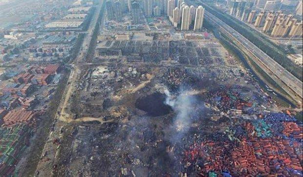 Через вибухи у Китаї постраждали понад дев'ятисот людей (фото)