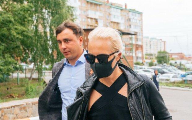 Дружина Навального Юлія, скріншот відео