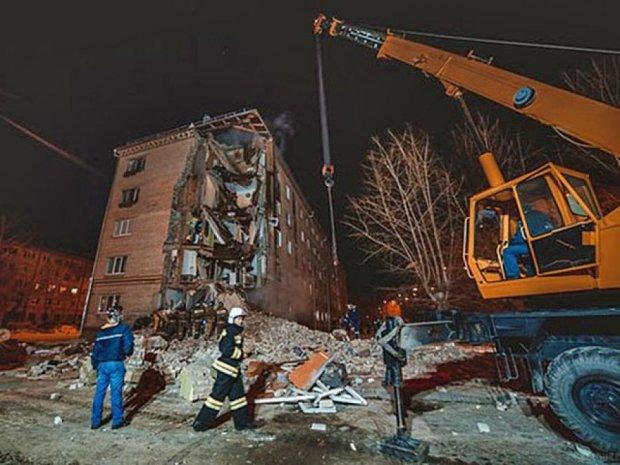 В Тюмени рухнул пятиэтажный дом (фото)