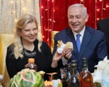 Нетаньяху с женой