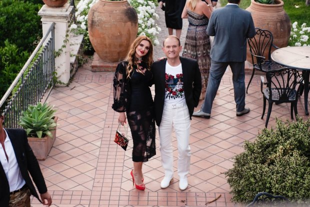Виктор Медведчук с Оксаной Марченко организовали украинскую вечеринку в рамках кинофестиваля Taormina Film Fest