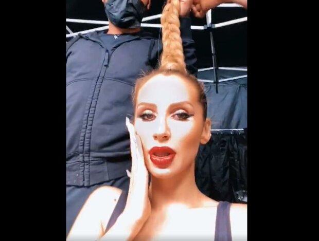 Светлана Лобода, скриншот с видео