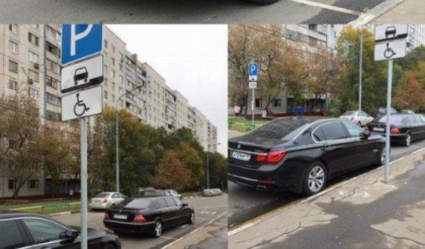 Жириновский стал «героем парковки» (фото)