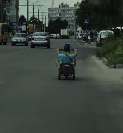 необычное транспортное средство, скриншот