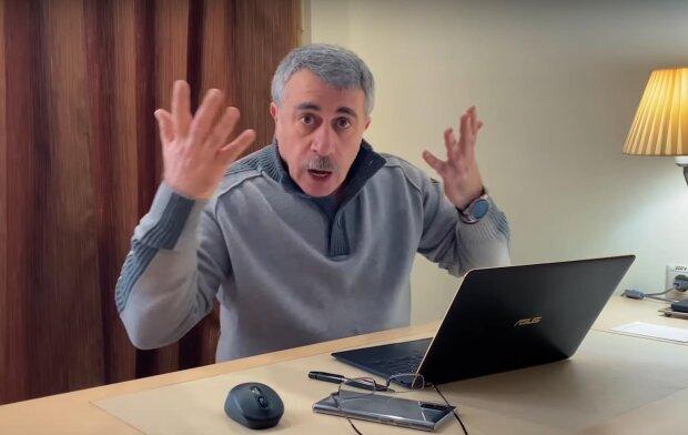 Розлючений Комаровський летить на коронавірусний хайп до Нових Санжар, відео