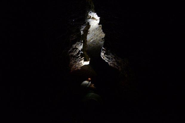 Пещера черного