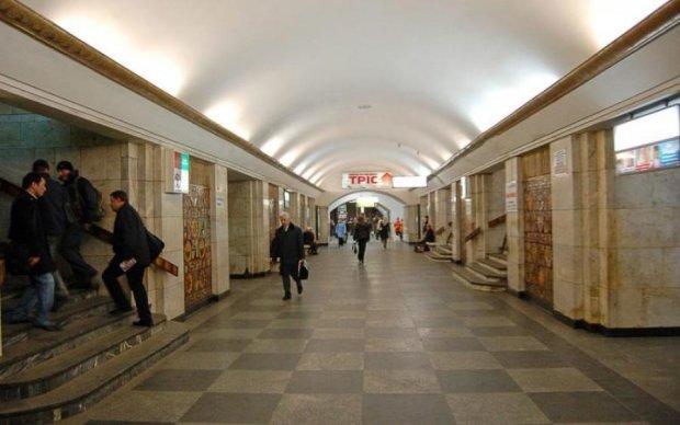 Труп поставив на вуха київське метро: фото