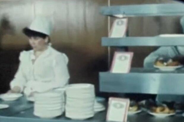 Советская столовая, скриншот: YouTube