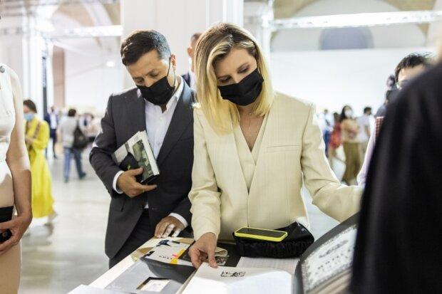 Володимир Зеленський з дружиною Оленою, фото president.gov.ua