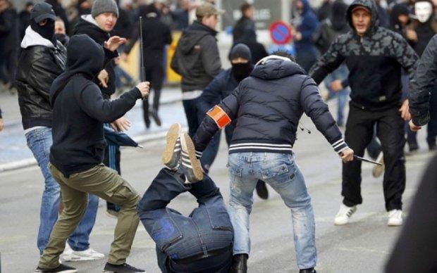 Референдум в Брюсселе закончился массовой дракой