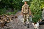 Животные на Донбассе, фото с фейсбук