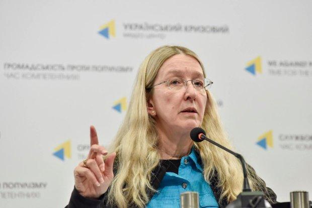 Супрун не помітила епідемії кору в Україні: десятки тисяч хворих її не бентежать