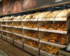 Хліб у супермаркеті, фото: prom-market.com.ua