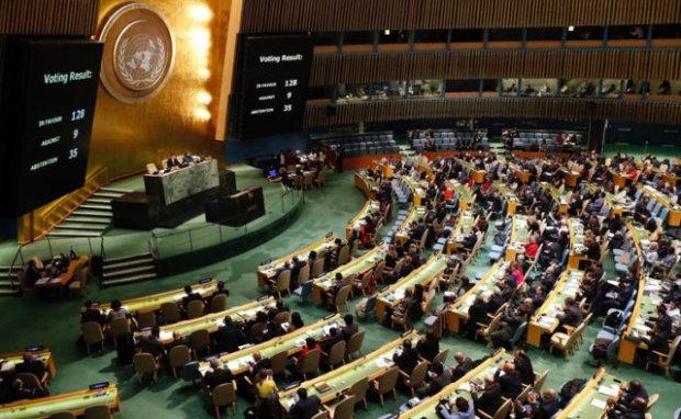 Перелякана Росія поскаржилася на українські пальці в ООН