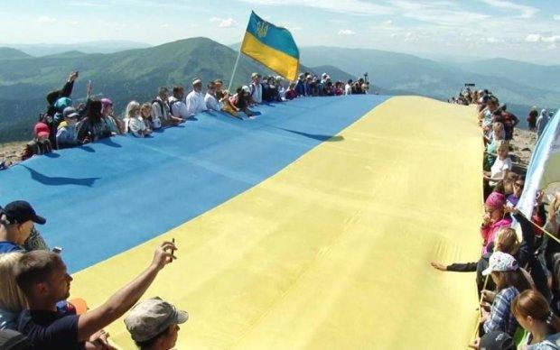 День Флага Украины: нелюди цинично надругались над национальной гордостью