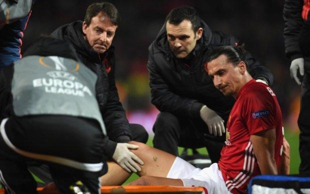 Ібрагімович отримав серйозну травму в матчі з Андерлехтом