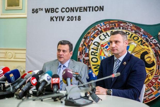 Маурісіо Сулейман і Віталій Кличко
