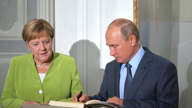 Путин встретился с Меркель: подробности
