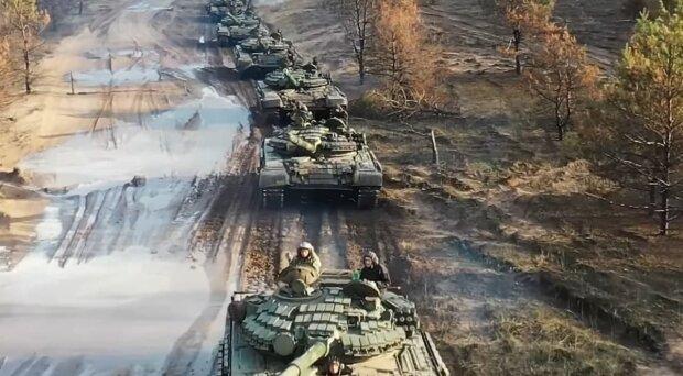 украинские танкисты, скриншот с видео