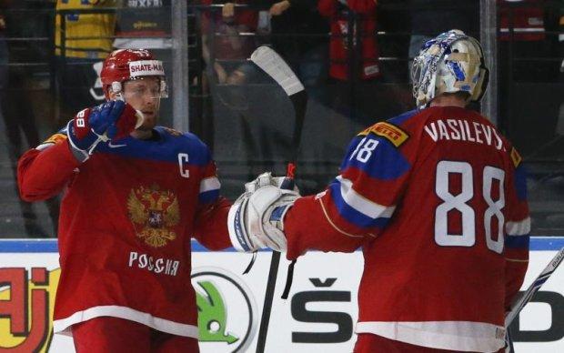 Росія - Чехія 3:0 Відео найкращих моментів матчу ЧС-2017 з хокею