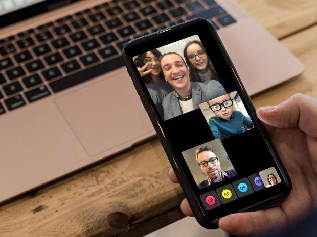 FaceTime на iPhone