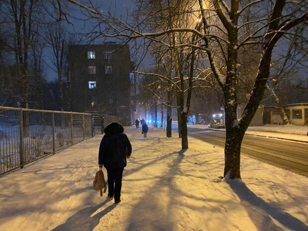 Снежный город, фото: Знай