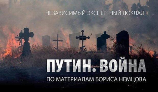 Опубликованы тезисы Немцова о войне России против Украины
