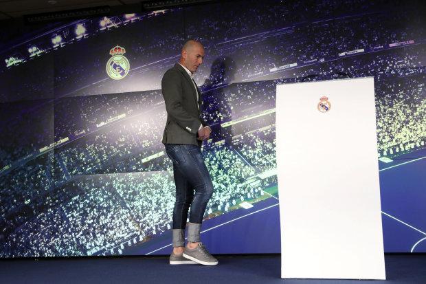 Зідан дебютував на тренерському містку Реала