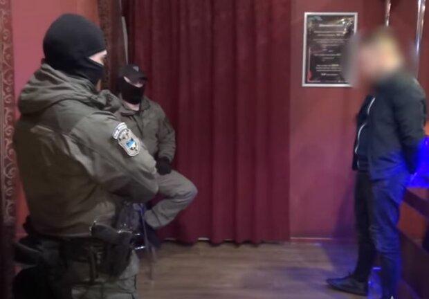 Затримання колекторів, скріншот відео