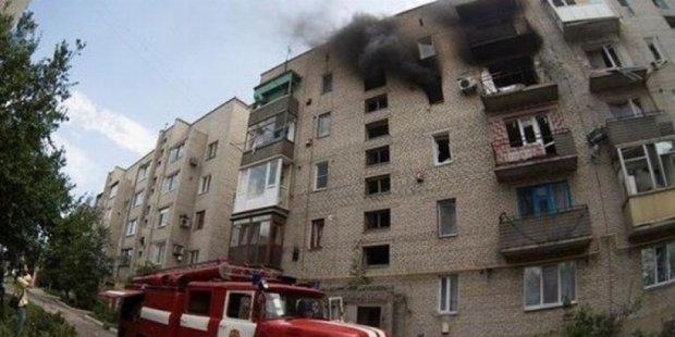 Четыре района Донецка под огнем - карта обстрелов