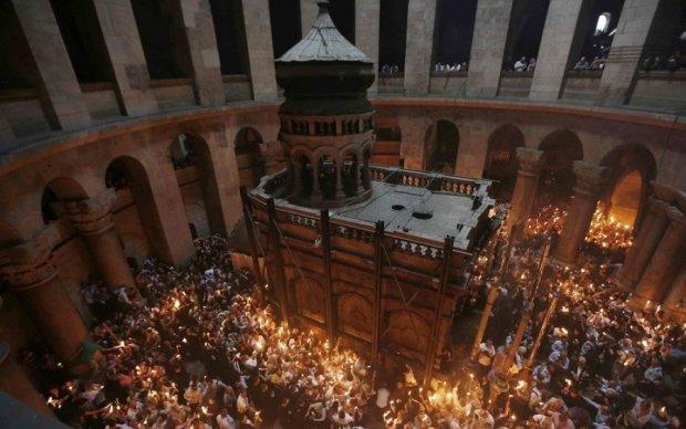 У мережі показали відреставровану гробницю Христа