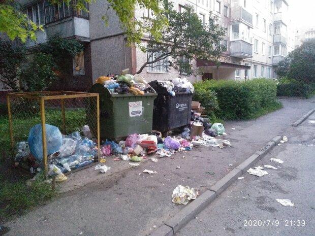 """Комунальники Надала """"забили болт"""" на тернополян - повний двір сміття і нестерпний сморід"""