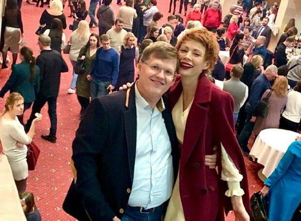 Елена-Кристина Лебедь и Павел Розенко, фото: пресс-служба Нового канала
