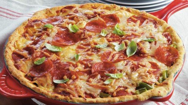 Рецепт полезной пиццы без глютена