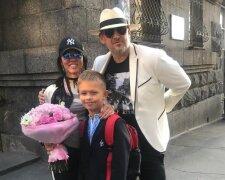 Потап з Іриною Горовою і їхнім сином