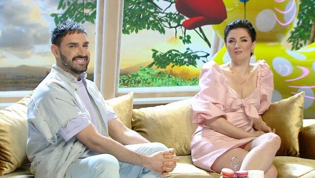 Оля Цибульська та Віталій Козловський, скріншот із відео