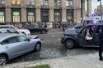 Аварія на Майдані, фото: twitter.com/AMykhailova