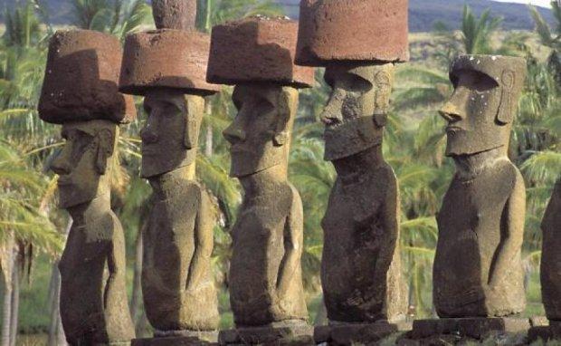 Вчені розкрили секрет бовванів з острова Пасхи