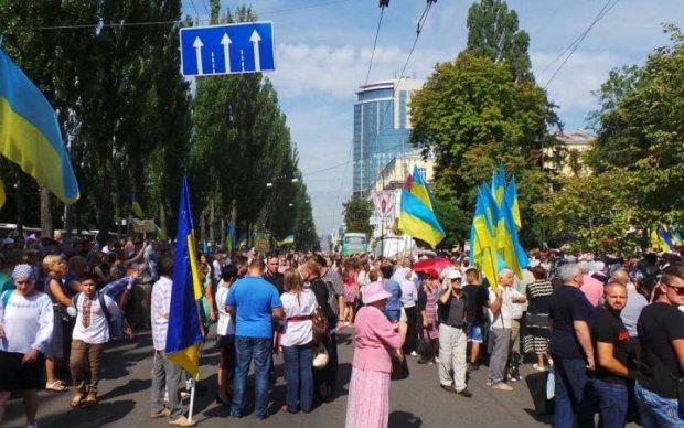 У Києві відбулася наймасштабніша Хресна хода в історії України