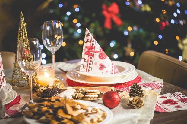 Стіл на Новий рік