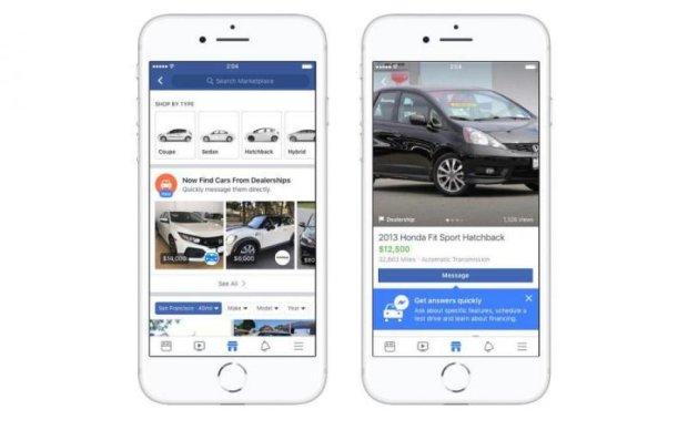 Facebook допоможе вам з покупкою авто